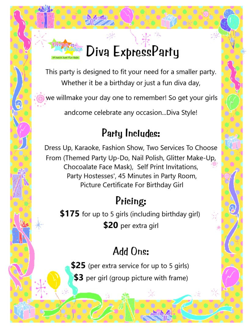 express party window sign